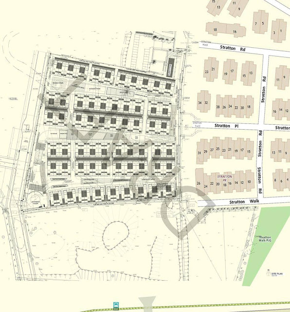 Belgravia Villas Location Site Plan