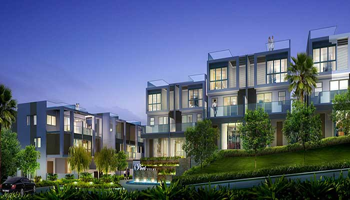Belgravia Villas Cluster Houses Developed Poets Villas